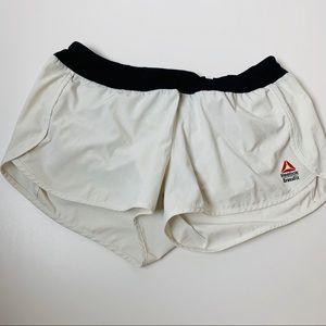 Reebok Blck and White Sz M CrossFit Shorts
